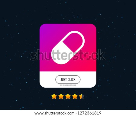 medical pill sign icon drugs