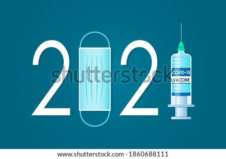 medical poster about covid 19 vaccination in 2021. world vaccination and prevention of coronavirus. vector illustration
