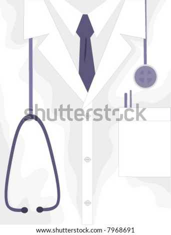 Medical Professional Lab Jacket  is a well-balanced composition done in light colors so it will be easy to add your message. AI-EPS8 vector