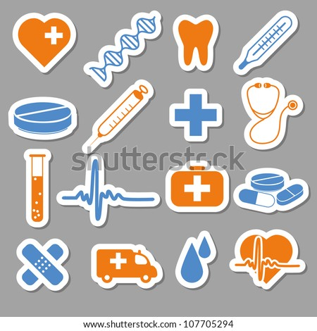 medical stickers