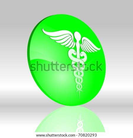 Medical symbol 3D 3