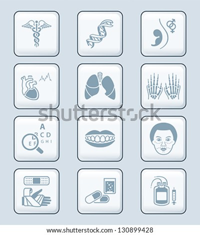 medical symbols  specialties