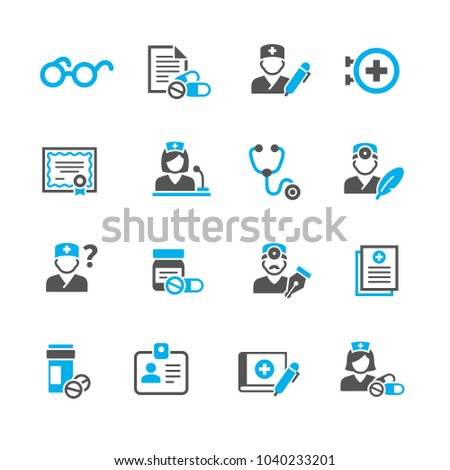 Medicine and Health symbols