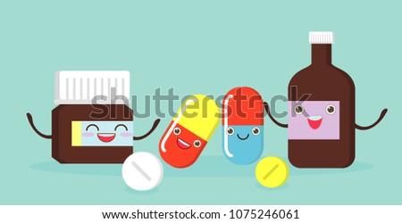 medicine funny pills  capsules
