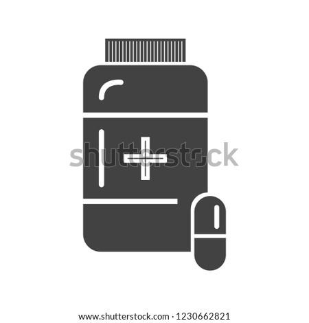 Medicine Glyph black icon