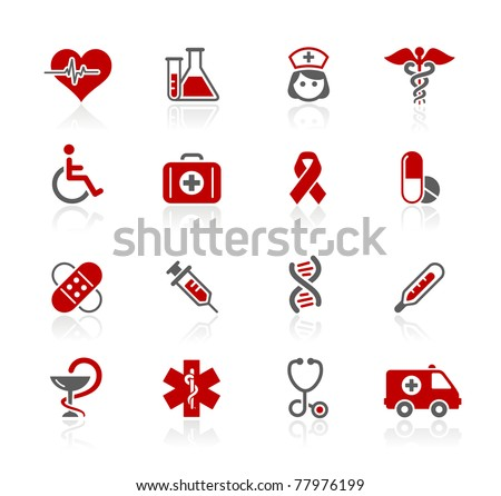 Medicine & Heath Care // Redico Series - stock vector