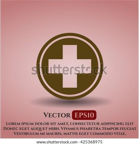 Medicine icon or symbol