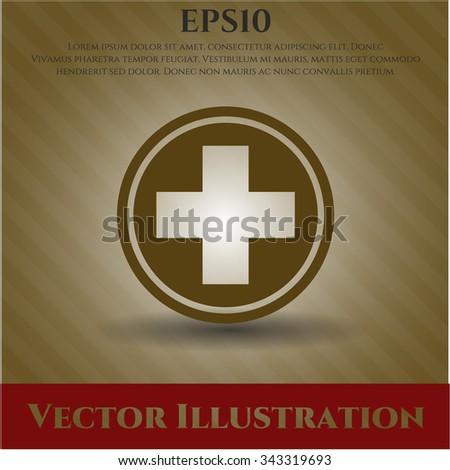 Medicine icon vector illustration