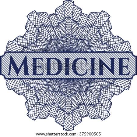 Medicine linear rosette