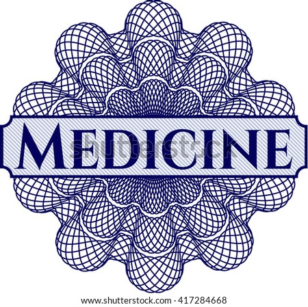 Medicine money style rosette