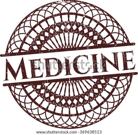 Medicine rubber grunge seal