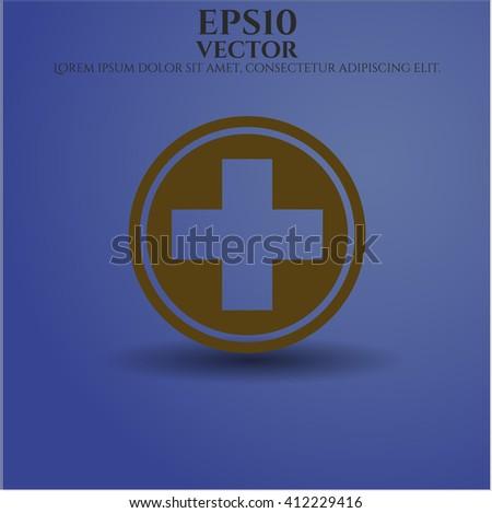 Medicine vector icon