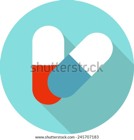 medicine vector icon pills or
