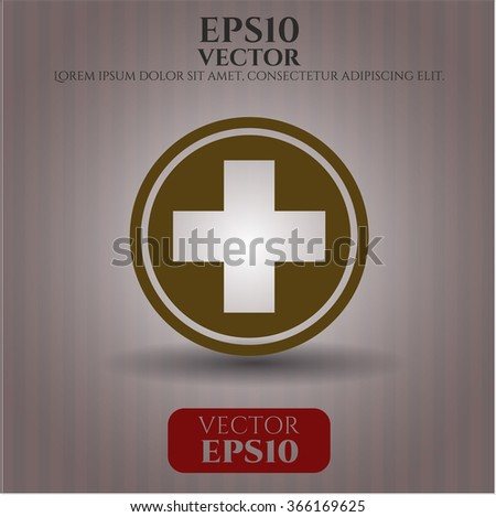 Medicine vector symbol