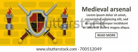 medieval arsenal banner
