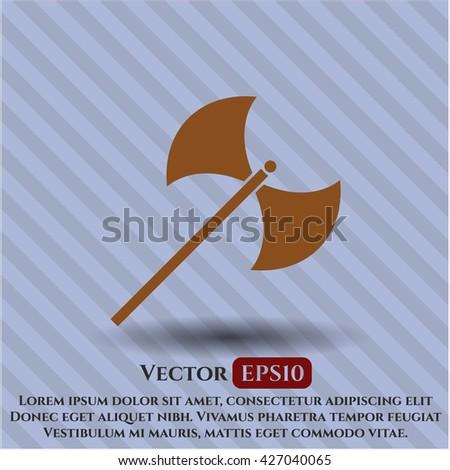 medieval axe icon
