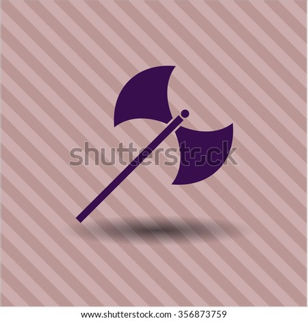 medieval axe symbol