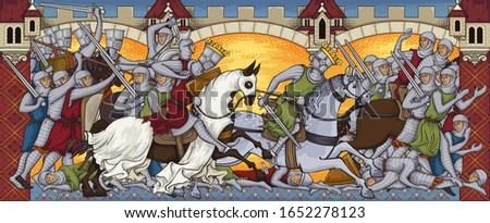 medieval battleancient