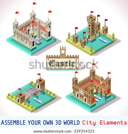 medieval building tiles for