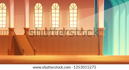 medieval castle  church or