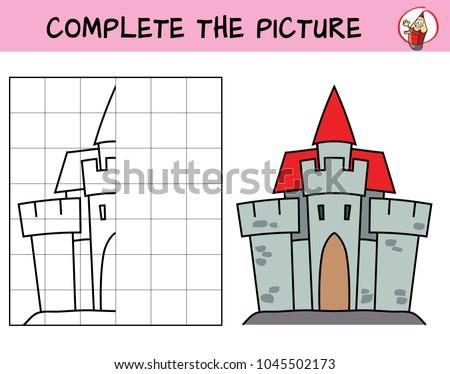 medieval castle copy the