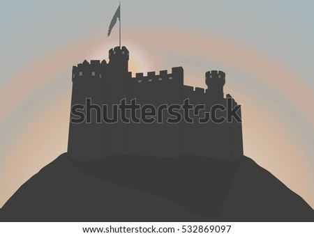 medieval castle fortress
