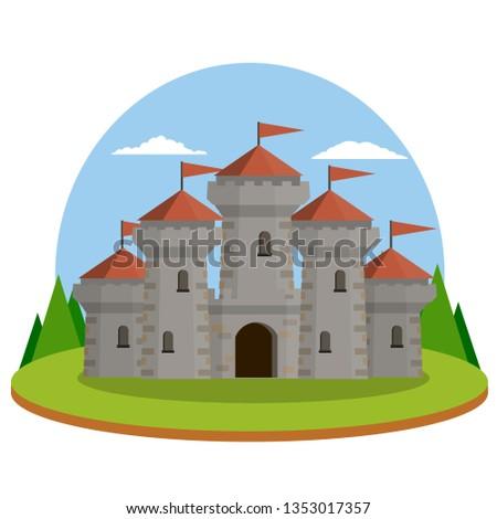 medieval castle old fortress