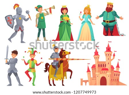 medieval characters royal