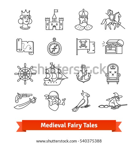 medieval fairy tales thin line