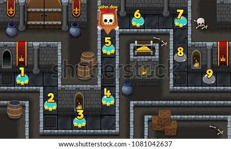 medieval fantasy dungeon  game