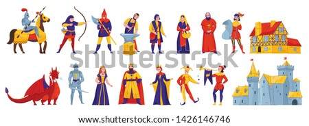 medieval kingdom characters 2