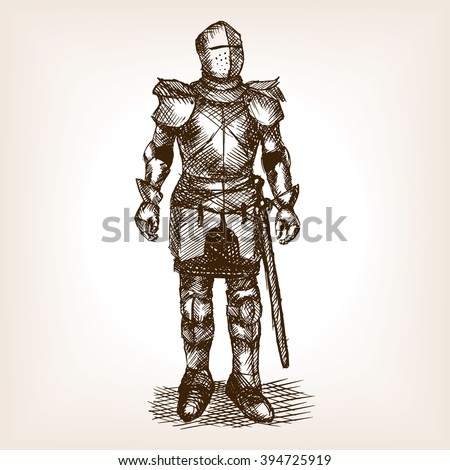 medieval knight armour and