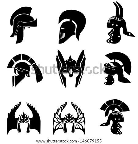 medieval knight  helmets