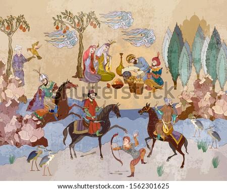 medieval miniature mughal art