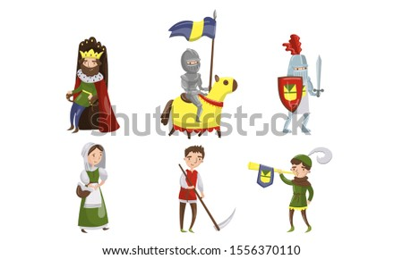 medieval people characters