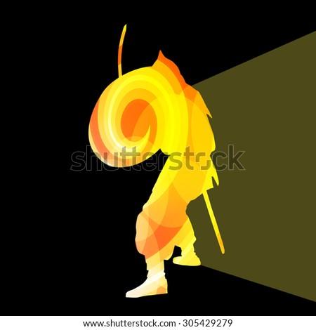 medieval warrior crusader man