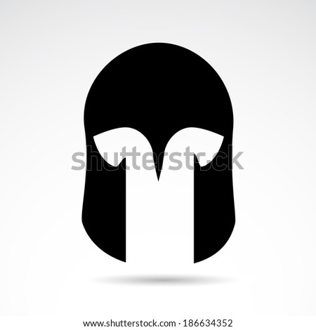medieval warrior helmet icon