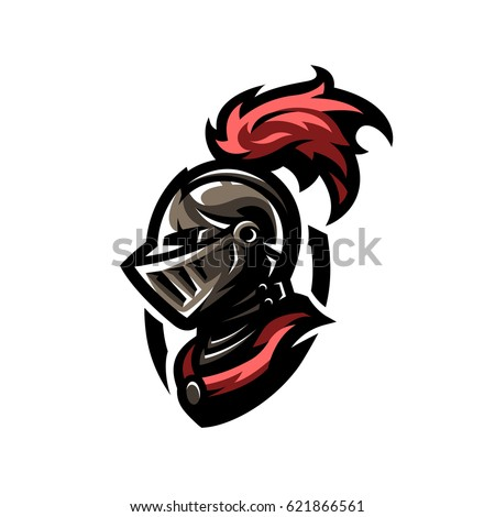 medieval warrior knight in