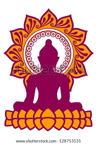 Vector Images Illustrations And Cliparts Meditation Buddha