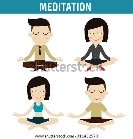 meditation people character