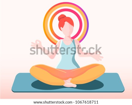 meditation the lotus position