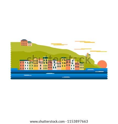 mediterranean europe village