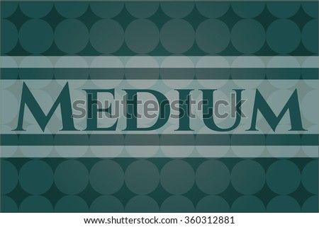 Medium card, poster or banner