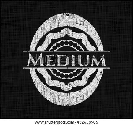 Medium chalkboard emblem