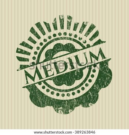 Medium grunge seal