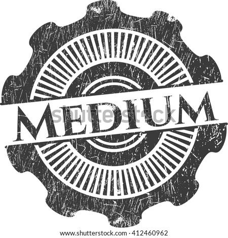 Medium rubber grunge texture seal
