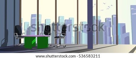 meeting room in business center