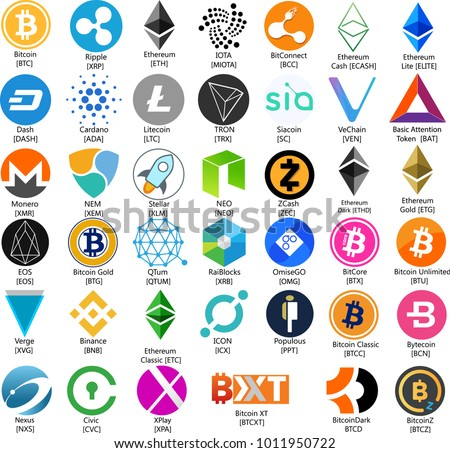 Free Bitcoin Vector Icons