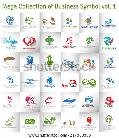 Mega Collection of Vector Logo Design