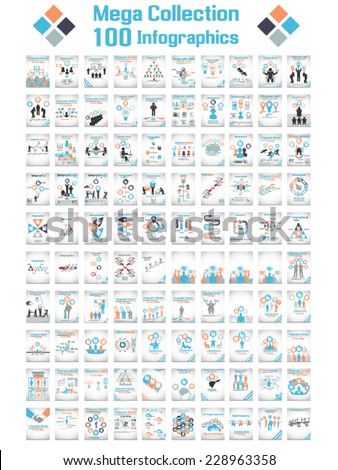 MEGA COLLECTIONS OF HUNDRED MODERN ORIGAMI BUSINESS ICON MAN STYLE OPTIONS BANNER